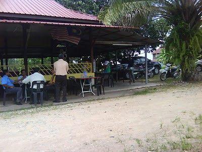 Kari Itik di Restoran Bersila, Yan, Kedah